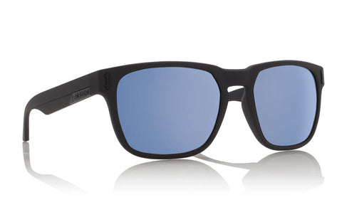 Dragon - Monarch Matte Black Sunglasses / Sky Blue Ion Lenses