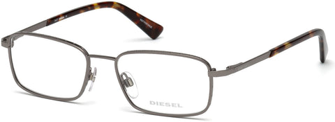 Diesel - DL5273 Matte Gunmetal Eyeglasses / Demo Lenses