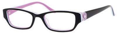 Juicy Couture - Ju 909 46mm Black Multi Striped Eyeglasses / Demo Lenses