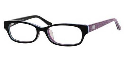 Juicy Couture - Ju 918 F Black Striped Eyeglasses / Demo Lenses