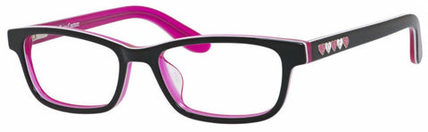 Juicy Couture - Ju 925 46mm Black Pink Eyeglasses / Demo Lenses