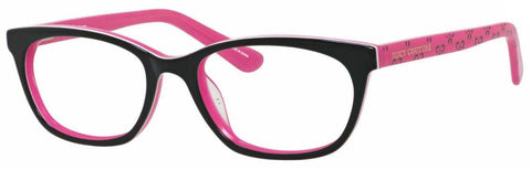 Juicy Couture - Ju 931 Black Pink Eyeglasses / Demo Lenses