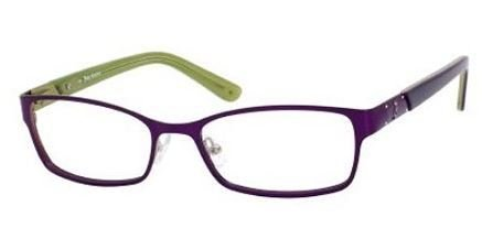 Juicy Couture - Ju 124 Satin Purple Eyeglasses / Demo Lenses