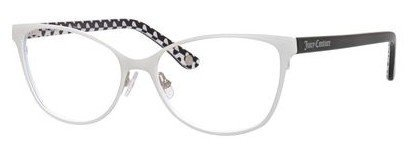 Juicy Couture - Ju 153 White Eyeglasses / Demo Lenses