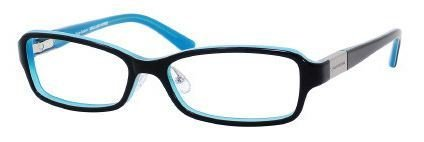 Juicy Couture - Wilshire F 52mm Black Teal Eyeglasses / Demo Lenses