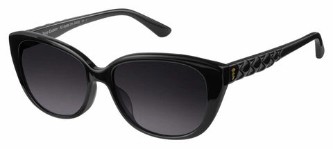 Juicy Couture - Ju 600 S Black Sunglasses / Dark Gray Gradient Lenses