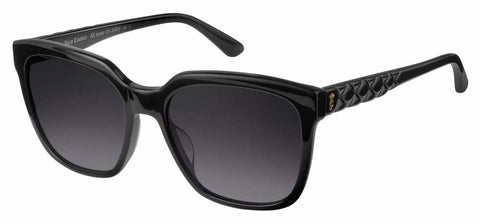 Juicy Couture - Ju 602 S Black Sunglasses / Dark Gray Gradient Lenses