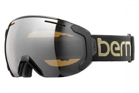 Bern Juno Black / Gold Goggles, Gold Light Mirror Lenses