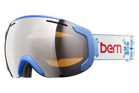 Bern - Juno Fair Isle Goggles, Orange Light Mirror Lenses