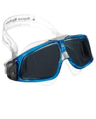 Aqua Sphere Seal 2 Translucent / Blue Swim Goggles, Smoke Lenses