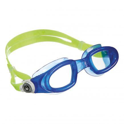 Aqua Sphere - Mako Blue Green Swim Goggles / Clear Lenses