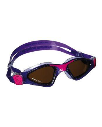 Aqua Sphere - Kayenne Ladies Violet / Pink Swim Goggles, Polarized Lenses