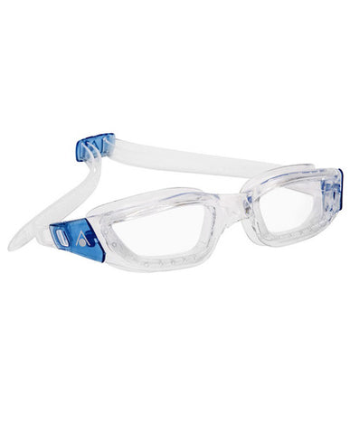 Aqua Sphere - Kameleon Transparent Blue Accents Swim Goggles / Clear Lenses