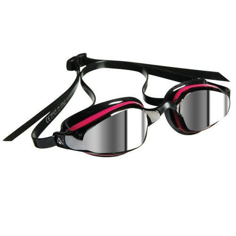 MP Michael Phelps - K180 Mirror Pink / Black Swim Goggles