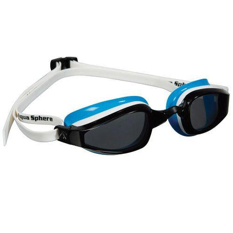 MP Michael Phelps - K180 Smoke Lens White / Baia Swim Goggles