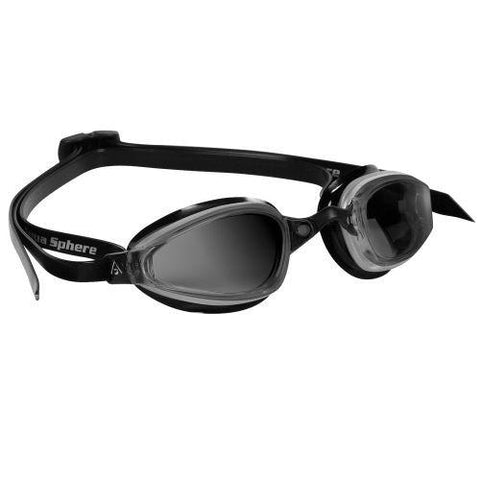 MP Michael Phelps K180 Smoke Lens Silver / Black Swim Goggles