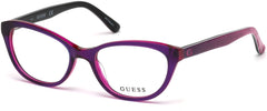 Guess - GU9169 Violet Eyeglasses / Demo Lenses