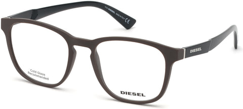 Diesel - DL5334 Matte Dark Brown Eyeglasses / Demo Lenses
