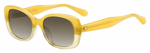 Kate Spade - Citiani G S Yellow Sunglasses / Brown Gradient Lenses