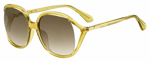 Kate Spade - Mackenna S Yellow Sunglasses / Brown Gradient Lenses