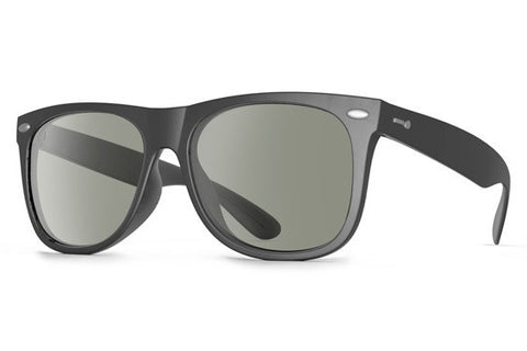 Dot Dash - Kerfuffle Black BKG Sunglasses, Grey Lenses
