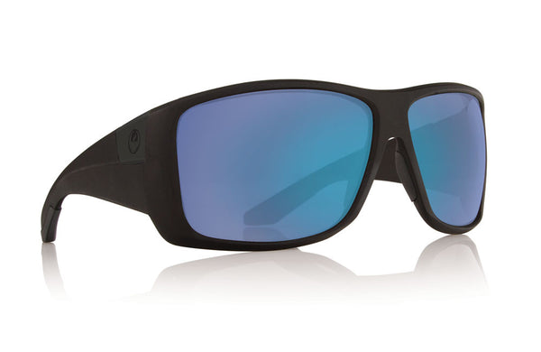 Dragon - Kit Matte Black / Blue Ion Performance Polar Sunglasses