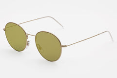Super - Wire Zero Gold Sunglasses