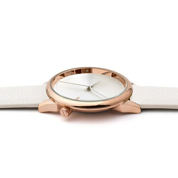 Komono - Estelle Deco Off White Watch