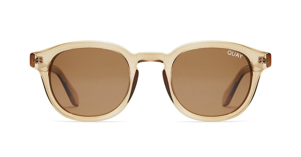 64bfd27218 Quay Walk On Toffee Sunglasses   Brown Lenses – New York Glass