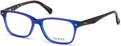 Guess - GU9172 Violet Eyeglasses / Demo Lenses