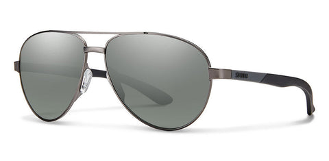 Smith - Salute Dark Ruthenium Sunglasses / Carbonic Platinum Lenses