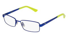 Puma - PJ0012O Junior Blue Eyeglasses / Demo Lenses