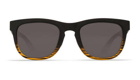 Costa - Copra  Matte Coconut Fade Sunglasses / Gray Polarized Plastic Lenses