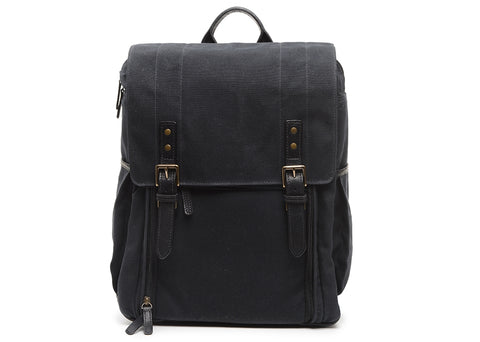 ONA - Camps Bay Black Backpack