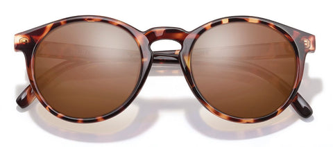 Sunski - Dipseas Tortoise Sunglasses / Amber Polarized Lenses