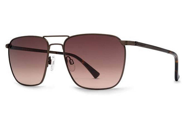 VonZipper - League Antique Brown ABD Sunglasses, Brown Grey Lenses