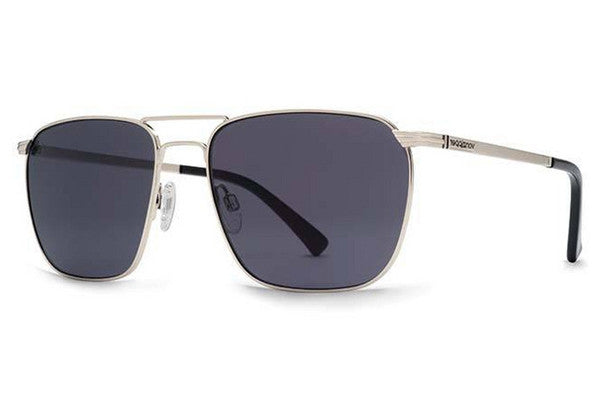 VonZipper League Silver SGY Sunglasses, Grey Lenses