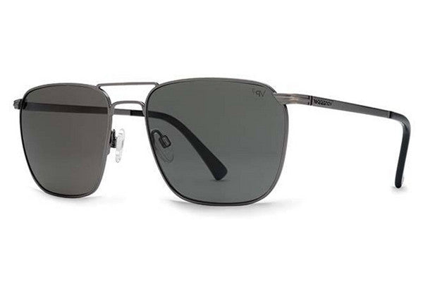 VonZipper - League Polar Charcoal CPP Sunglasses, Grey Poly Lenses