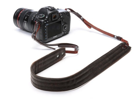 ONA - Leather Presidio Dark Truffle Camera Strap