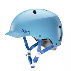 Bern - Lenox EPS Satin Light Blue Skate Helmet