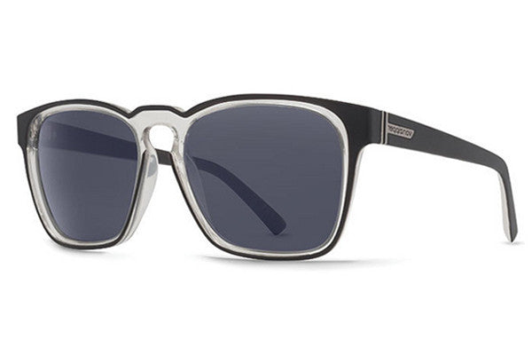 VonZipper - Levee Black Crystal BYN Sunglasses, Navy Lenses