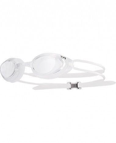TYR - Blackhawk Racing Adult Clear Swim Goggles / Clear Lenses