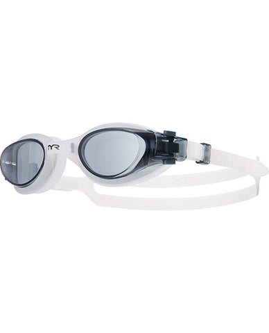 TYR - Vesi Adult Smoke Swim Goggles / Clear Lenses