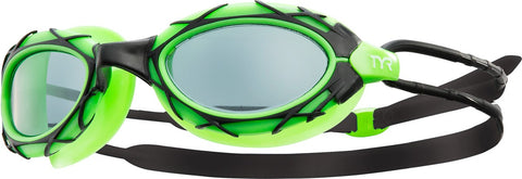 TYR - Nest Pro Black/Green Swim Goggles