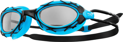 TYR - Nest Pro Black/Blue Swim Goggles