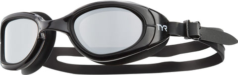 TYR - Special Ops 2.0 Polarized Black Swim Goggles / Clear Lenses
