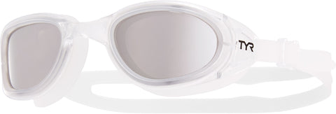 TYR - Special Ops 2.0 Polarized Silver Swim Goggles / Clear Lenses