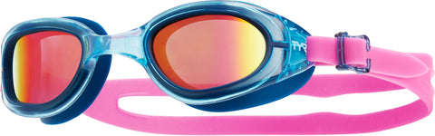TYR - Special Ops 2.0 Femme Polarized Navy Swim Goggles / Pink Lenses