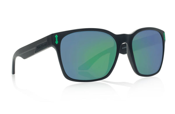 Dragon - Liege Matte Black H2O / Green Ion P2 Sunglasses