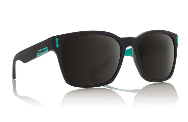 Dragon Liege Matte Black Teal / Grey Sunglasses